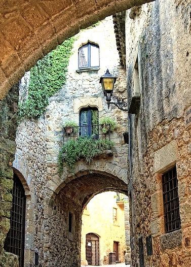 Arch, Girona, Catalonia, Spain
