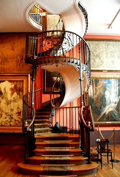 Spiral Staircase, Gustav Moreau Museum, Paris