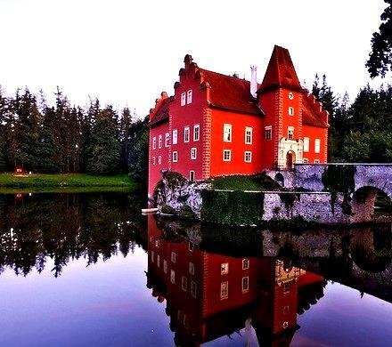 Cervena Lhota Castle, Czech Republic