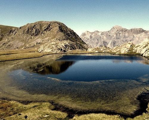 by b.four on Flickr.Lac de Morgon, Alpes Maritimes - Provence Alpes-Cote d'Azur, France.