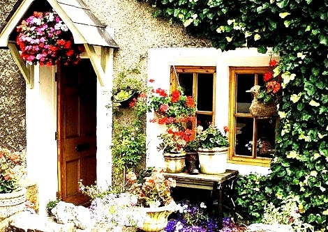 Garden Cottage, Heysham, Lancashire, England