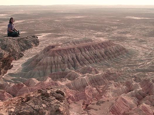 by Citt on Flickr.Yangykala Canyon in Central Asia, Turkmenistan.