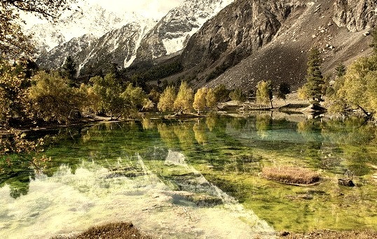 by Johan Assarsson on Flickr.Beautiful lake in Naltar Valley, northern Pakistan.