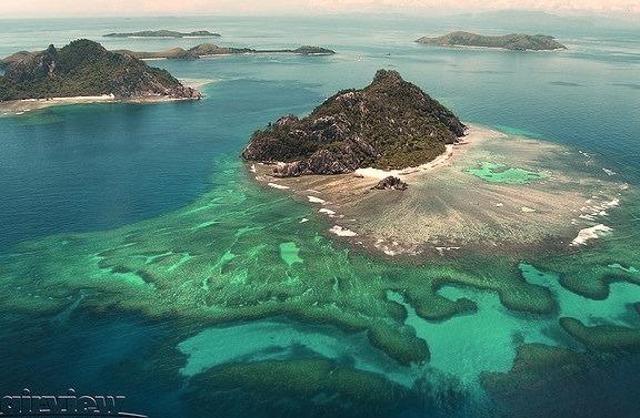 by Mark Merton on Flickr.Monu Riki Island in Fiji, where the Tom Hanks film Castaway was shot.