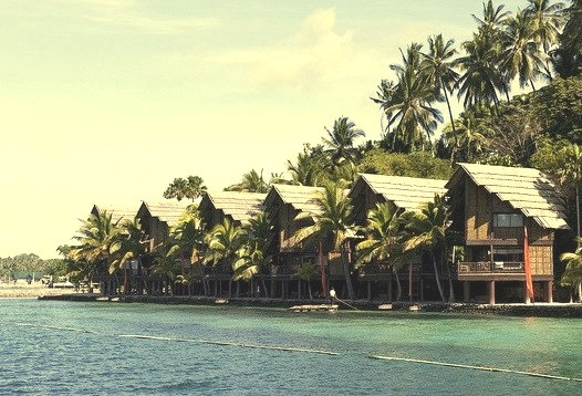 by FoNgEtZ on Flickr.Pearl Farm Beach Resort in Davao del Sur, Philippines.