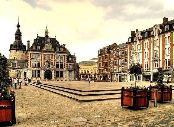 by HusarD on Flickr.View of Royal Theater in Namur, the capital of Wallonia, Belgium.