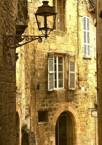 Ancient Street, Sarlat, France