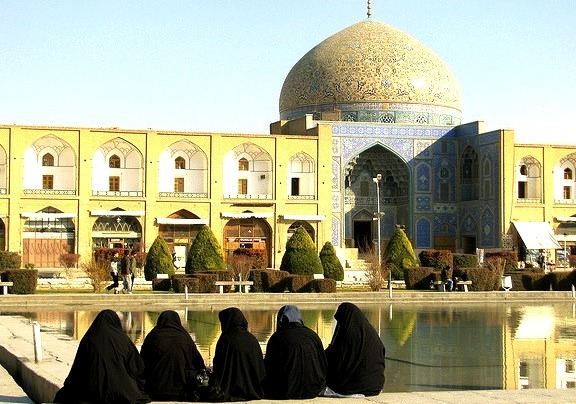 by cujomaciocchi on Flickr.Persian architecture in Imam Square, Isfahan, Iran.