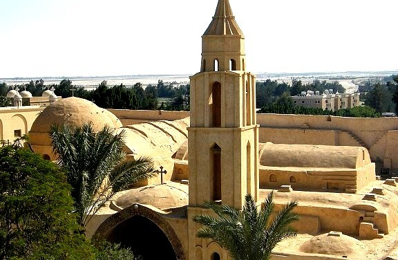 Monastery of the Syrians in Wadi el Natrun, Egypt