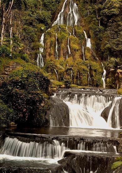 Thermal waters at Santa Rosa de Cabal, Colombia