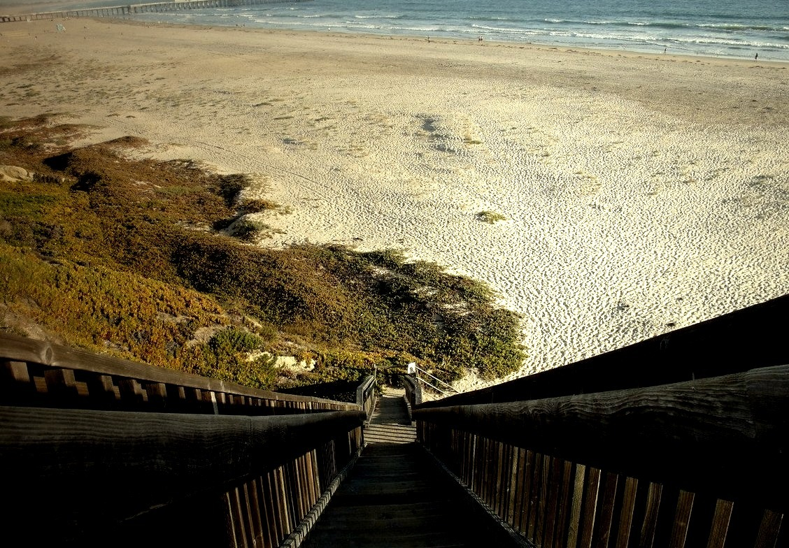Stairs to the Sea, Pismo Beach, California