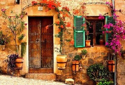 Entryway, Majorca, Spain