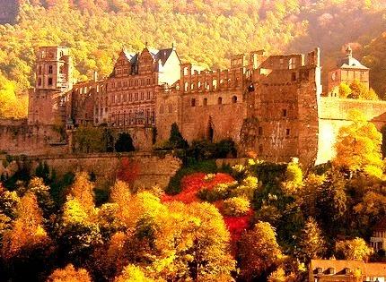 Autumn, Heidelberg Castle, Germany