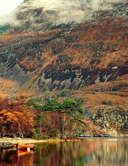 Beneath Slioch Mountain, Loch Maree, Scotland