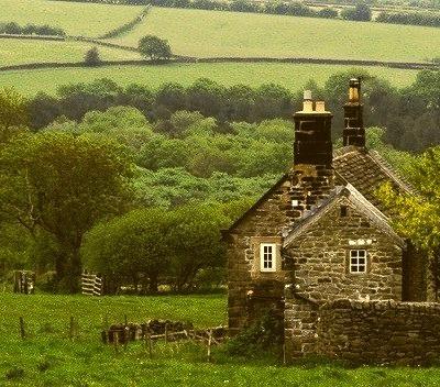 Ancient Stone House, Derbyshire, England