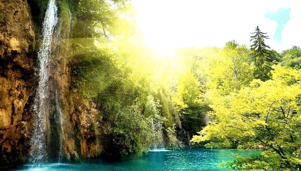 Waterfalls, Plitvice, Croatia