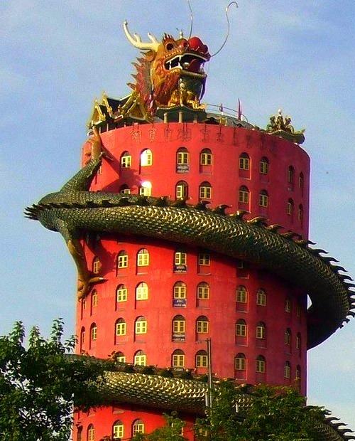 Dragon Temple, Bangkok, Thailand