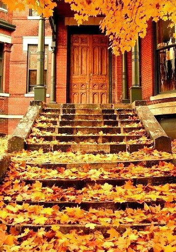 Stairs, Boston, Massachusetts