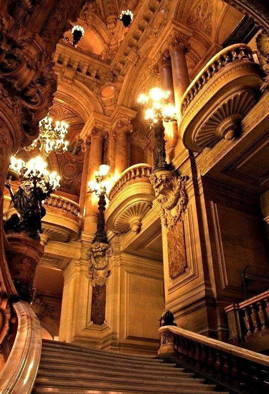 Balconies, Opera House, Paris