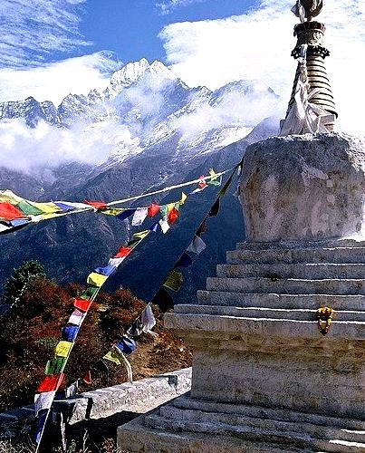 Tenzing Chorten, Everest Trail, Nepal