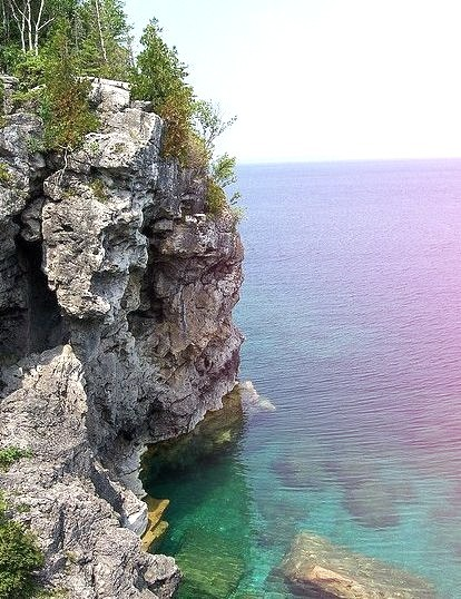 Bruce Peninsula National Park in Ontario, Canada
