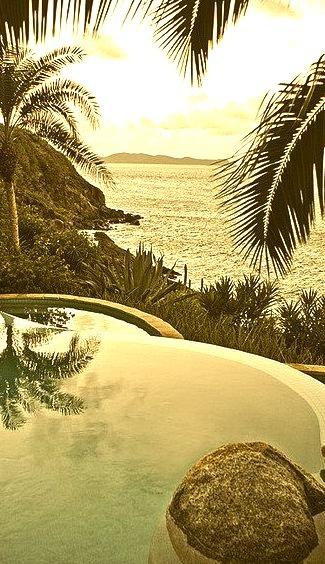 Infinity Pool at Little Dix Bay, British Virgin Islands