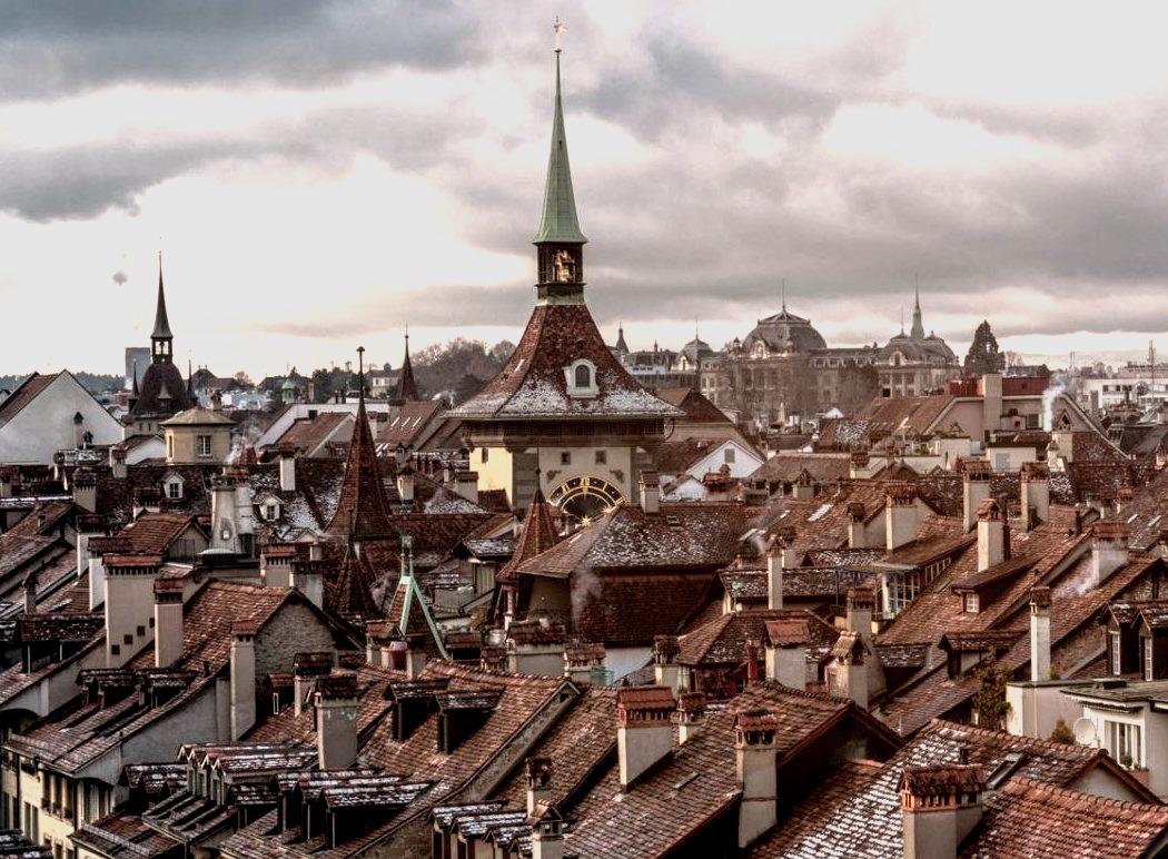 Roofs of Bern / Switzerland